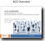 ACO, Alternative Care Organizations, Healthcare Consulting